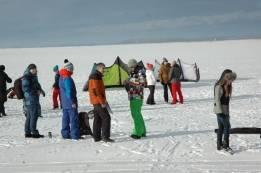 Открытый чемпионат по зимним парусным видам спорта 2016